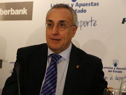 Alejandro Blanco, en los Desayunos de Europa Press.