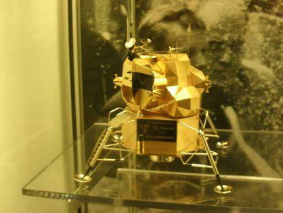 La réplica robada del Museo de Neil Armstrong.