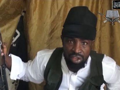 Fotograma del líder de Boko Haram, Abubaker Shekau, el pasado marzo.