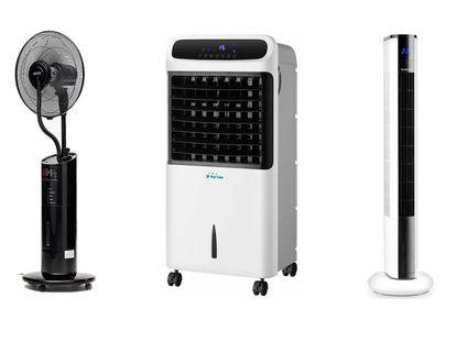 Combate la ola de calor con estas ofertas y precios bajos en climatizadores y ventiladores