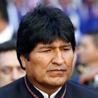 El presidente Evo Morales, el pasado mes de mayo, durante una visita a Paraguay.