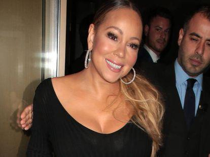 Mariah Carey, el 27 de mayo en Londres.