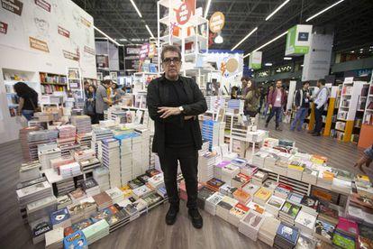 Eduardo Lago, durante la Feria Internacional del Libro de Guadalajara