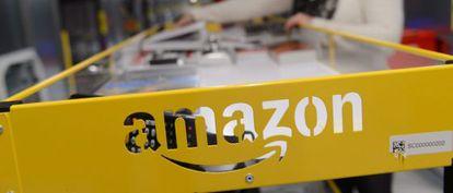 Uno de los puntos de recogida de Amazon.