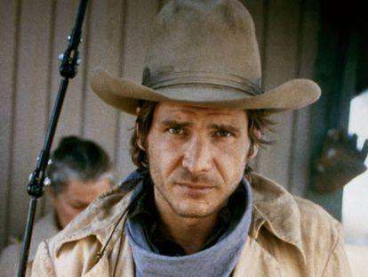 Harrison Ford en 'El rabino y el pistolero' (1979). Ya era entonces una estrella gracias a 'La guerra de las galaxias', estrenada dos años antes. En vídeo, el tráiler de 'La llamada de lo salvaje'.