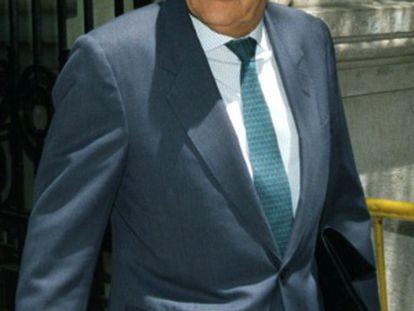 El exdirector del CESID, Emilio Alonso Manglano, en una foto de archivo.