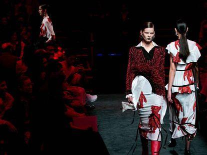 El desfile de Juan Vidal en Mercedes Benz Fashion Week Madrid.