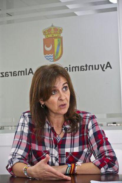 Sabina Hernández, alcaldesa de Almaraz.