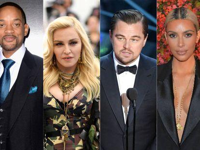 Will Smith, Madonna, Leonardo DiCaprio y Kim Kardashian. Todos ellos protagonistas de momentos muy incómodos en una alfombra roja.