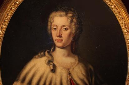Retrato de Laura Bassi (1711-1778), mediados del siglo XVIII. Encontrado en la Colección de la Università di Bologna. Artista Vandi, Carlo (? -1768). (Foto de Fine Art Images / Heritage Images a través de Getty Images)
