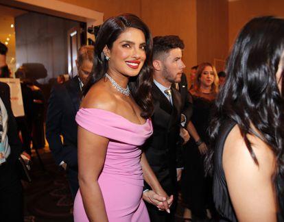 Priyanka Chopra, en Beverly Hills (California, EE UU), el pasado enero.
