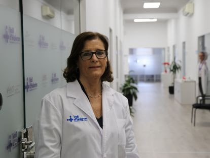 Magda Campins, jefa de epidemiología del hospital Vall d'Hebron de Barcelona.