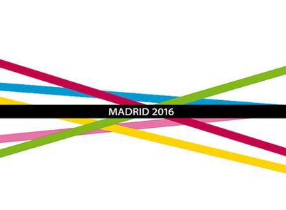Éste es el logo sospechoso, <i>Madridfluye 2016</i>.