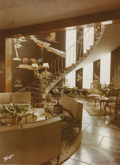 Interior de la casa familiar del empresario valenciano.