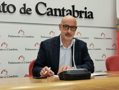 Félix Álvarez, portavoz parlamentario de Ciudadanos.