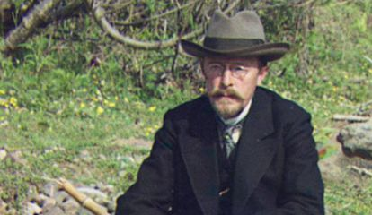 Sergey Prokudin-Gorsky, químico y fotógrafo ruso