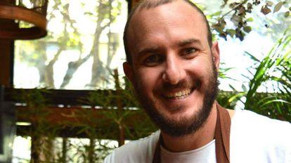 Juan Sebastián, cocinero de Quito (Ecuador).