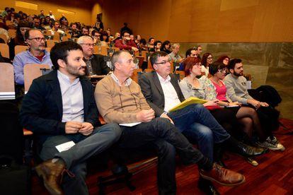 Marzà, Baldoví, Morera y Micó en un Consell Nacional del Bloc.