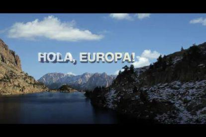 Captura del reportaje 'Hola, Europa' emitido en TV-3.