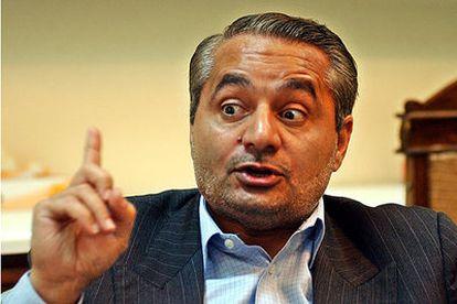 El jefe del equipo negociador iraní para asuntos nucleares, Husein Musavián.