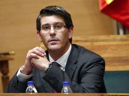 El expresidente de la Diputación de Valencia y alcalde de Ontinyent, Jorge Rodríguez, hace dos años.