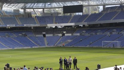 La reforma del estadio de Anoeta.
