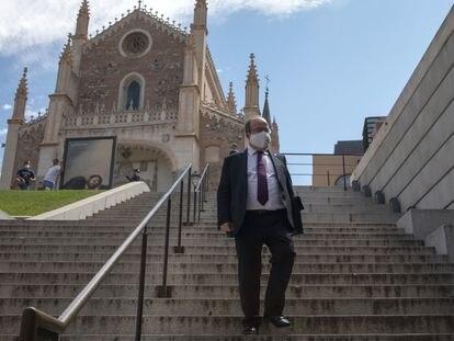 El ministro de Cultura y Deporte, Miquel Iceta, el pasado 23 de julio en Madrid.