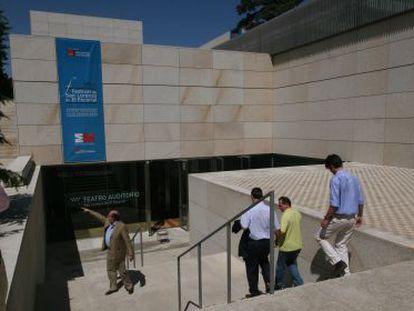 El Teatro Auditorio de San Lorenzo de El Escorial.