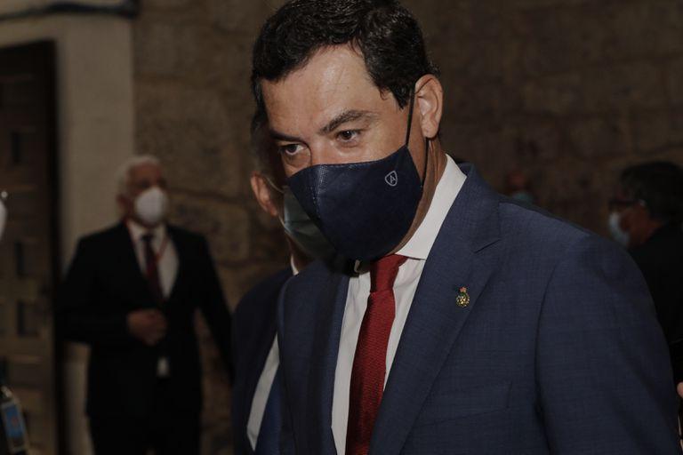 El presidente de la Junta de Andalucía, Juan Manuel Moreno.