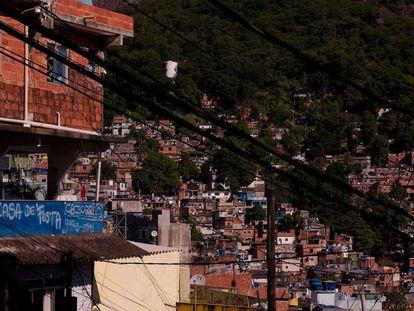 Una favela en Río de Janeiro.