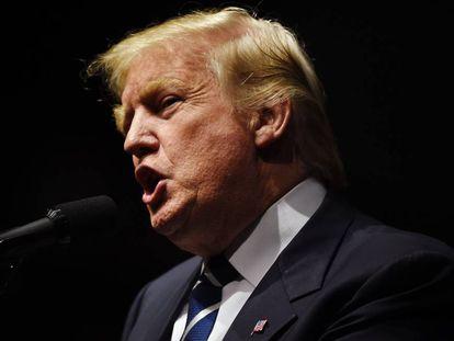El presidente electo de EE UU, Donland Trump.