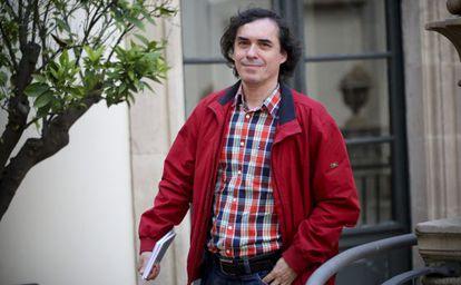 El rumano Mircea Cartarescu, ayer en Barcelona.