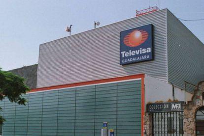 La sede de Televisa en Guadalajara.