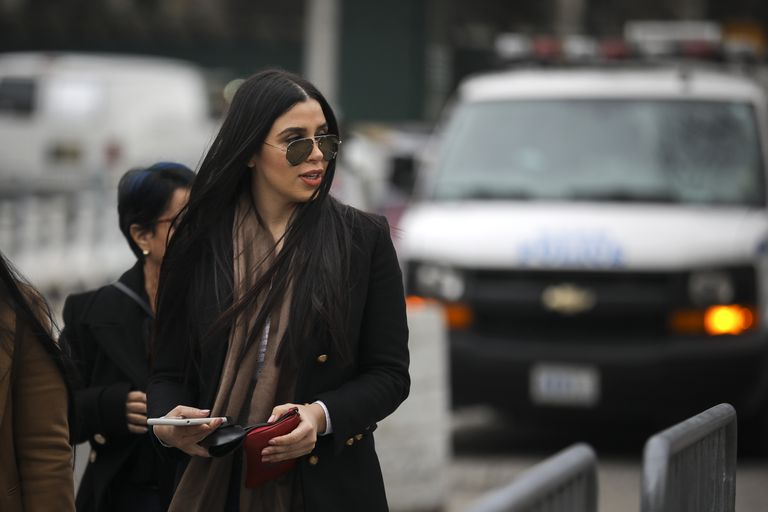 Emma Coronel Aispuro, in District Court in New York, on January 23, 2019.