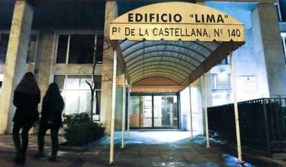 Edificio de la antigua sede de ads-broker en Madrid.