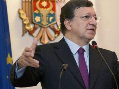 El presidente de la Comisión Europea, José Manuel Durao Barroso.