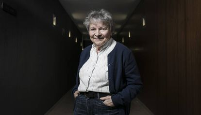08/02/2020 - Barcelona - En la imagen la escritora de novela negra Dominique Manotti. Foto: Massimiliano Minocri