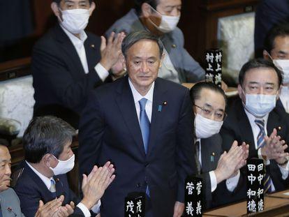 El nuevo primer ministro de Japón, Yoshihide Suga