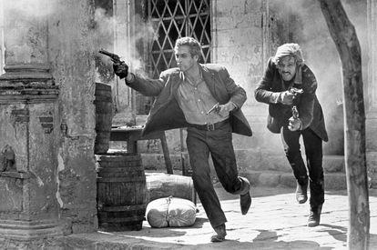 Paul Newman y Robert Redford, en un instante de 'Dos hombres y un destino'.