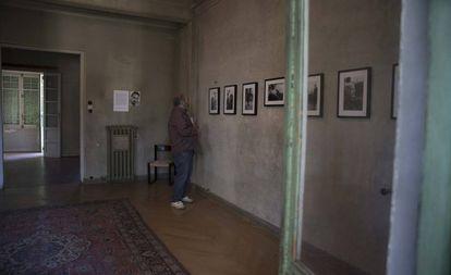 Interior de la vivienda de Vicente Aleixandre, en una imagen de julio de 2018.