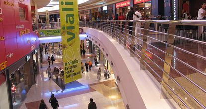 Centro comercial Vialia en Málaga.