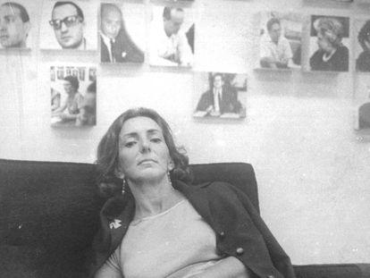 La poeta uruguaya Idea Vilariño hacia 1964.