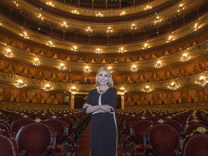 La directora del Teatro Colón de Buenos Aires, María Victoria Alcaraz.