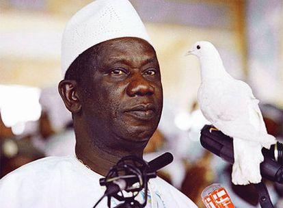 Lansana Conté, en una imagen de archivo