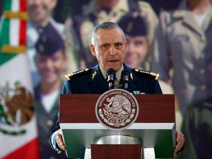 El general Salvador Cienfuegos, exsecretario de Defensa de México, en febrero de 2013.