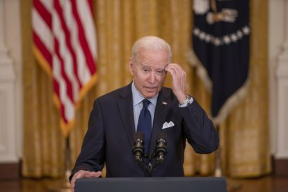 The president of the United States, Joe Biden, during an appearance.