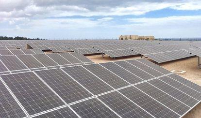 Paneles solares en Fuerteventura