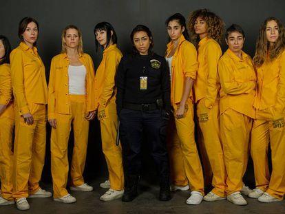 El reparto al completo de la tercera temporada de 'Vis a Vis' que se estrenará en Fox.