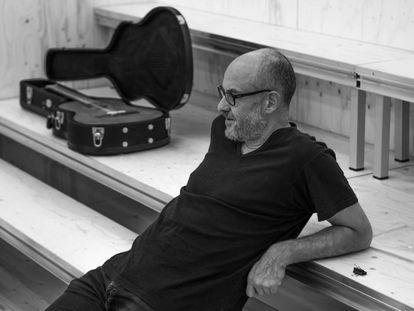 Álex Rigola, en noviembre de 2017 en Madrid durante un ensayo de su versión de 'Tío Vania'.