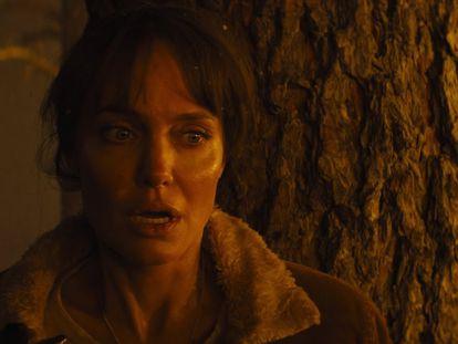 Angelina Jolie, en 'Aquellos que desean mi muerte'.